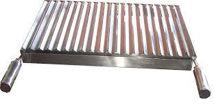 Grelha argentina de inox para churrasqueira-3