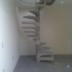 Escada de concreto pré moldada